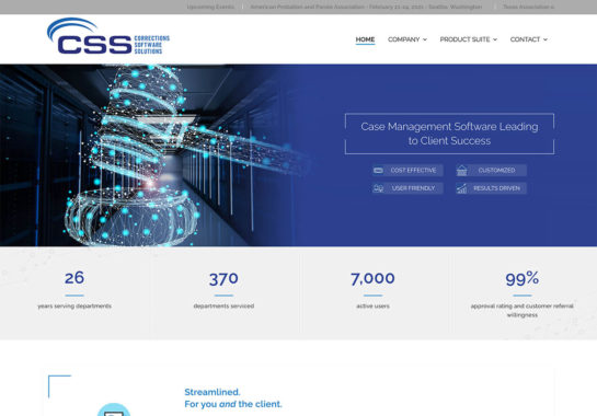 Corrections Software Solutions